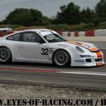 N°32 - SALAM Bernard - SALAM Olivier - Porsche 997 CUP S - STADLER MOTORSPORT - GT/TOURISME - Série V de V FFSA DIJON 2012