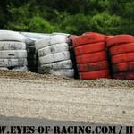 Mur de pneumatiques - Crash - Série V de V FFSA DIJON 2012