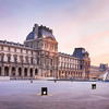 Panoramique HDR de la cours du Louvre
