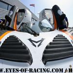 N°46 - TENEKETZIAN Harry - JOUSSE Julien - CHARDONNET Sébastien - Mosler MT 900 - AB Sport Auto - Stands - GT / Tourisme - Série V de V FFSA DIJON 2012