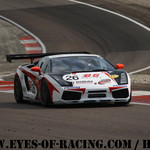 N°26 – BULTE Franck – DEBLANGEY Jean – Luc – BERAUD Nicolas – Lamborghini Gallardo – BG RACING – Série V de V FFSA DIJON 2012
