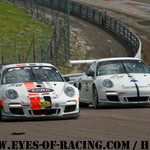 N°56 – STEPEC Thierry – PRIGNAUD Thierry – Porsche 997 – RMS - N°25 – PERRODO François – CRUBILE Sébastien Porsche 997 – CRUBILE SPORT - GT / Tourisme - Série V de V FFSA DIJON 2012