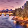 Pont notre Dame et les bords de Seine à Paris