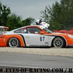 N°67 - ALLOIN Jean-Louis - ALOIN Jeremy - Porsche 997 Cup - PORSCHE ALMERAS - GT/Tourisme Série V de V FFSA DIJON 2012
