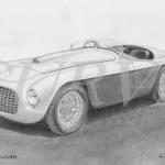 Ferrari 166 MM Barchetta Touring Lusso