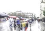 Les couleurs de la pluie à Paris
