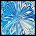 Fleur de vie bleu